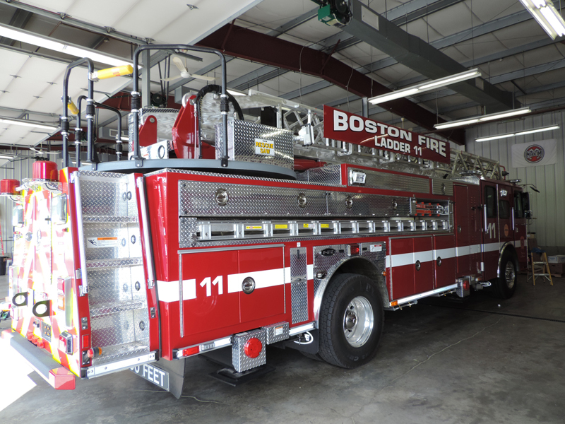 Boston Ma Ladder 19 And Ladder 11 Greenwood Emergency
