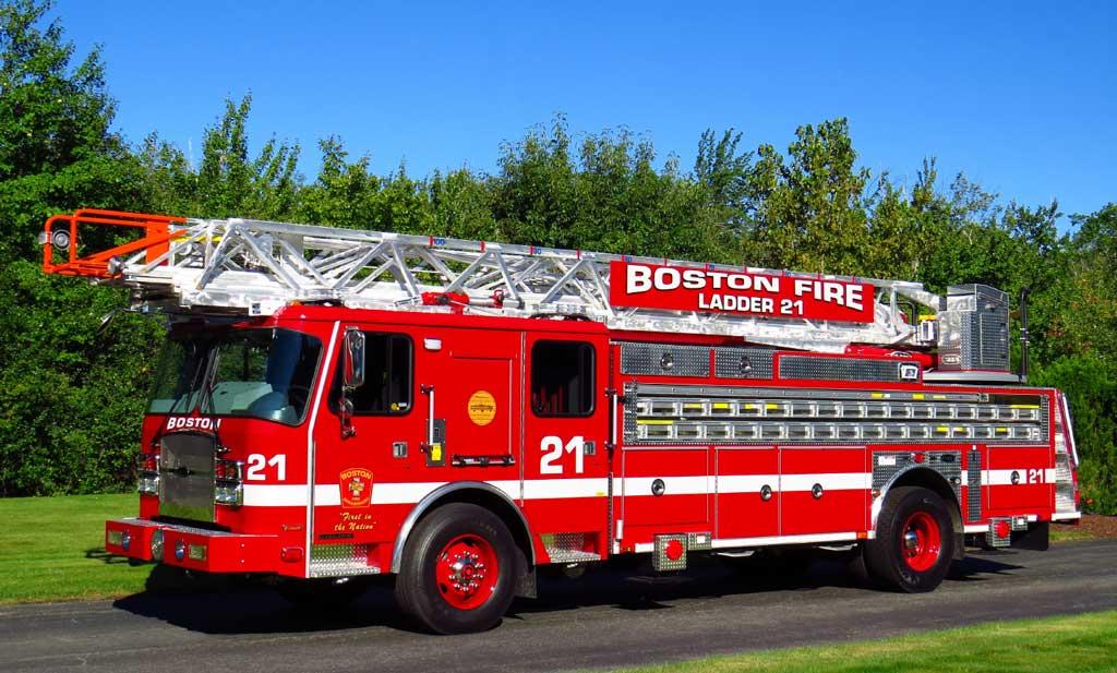 Boston, MA  - E-One 100' Metro Ladder 21