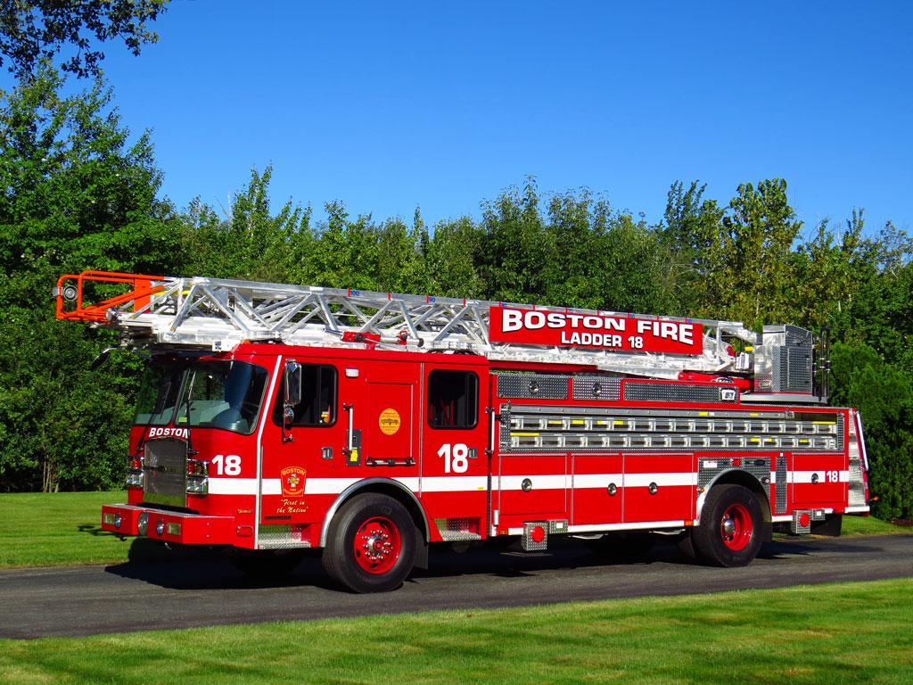 Boston, MA  - E-One 100' Metro Ladder 18
