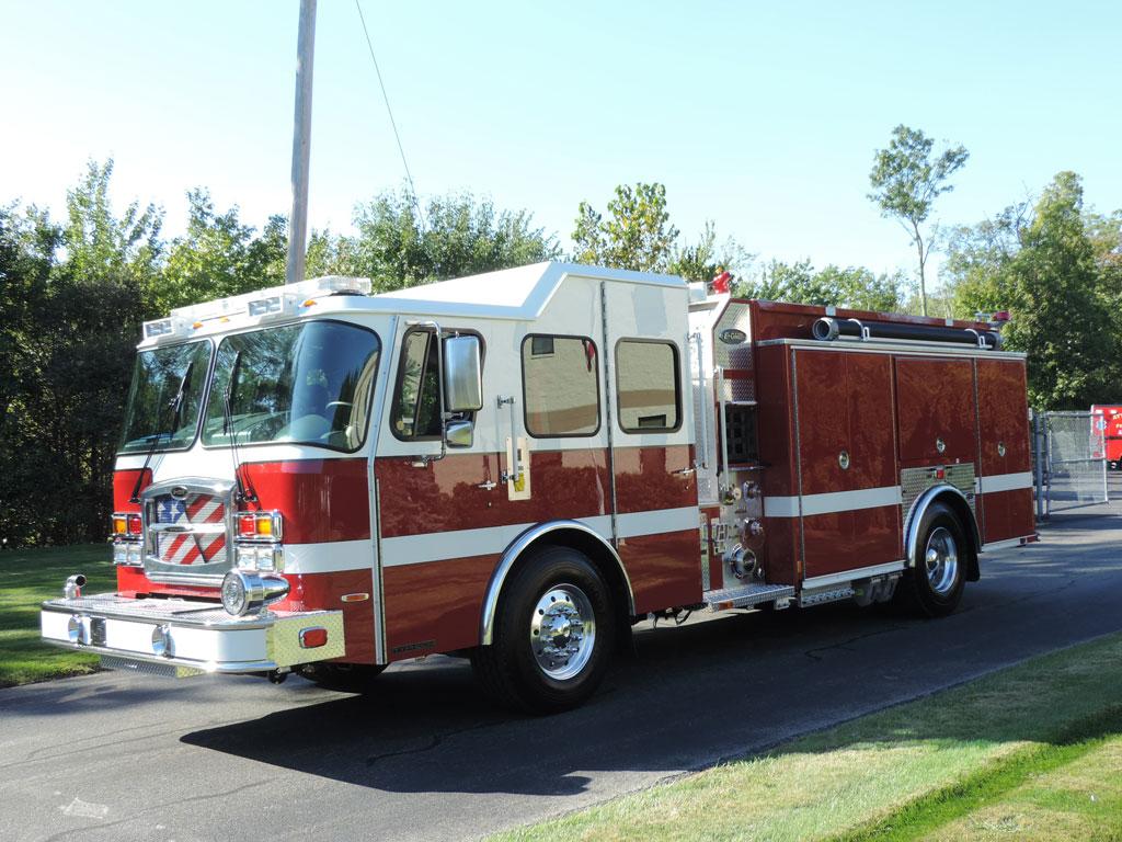 Lanesboro, MA - E-One Custom Pumper