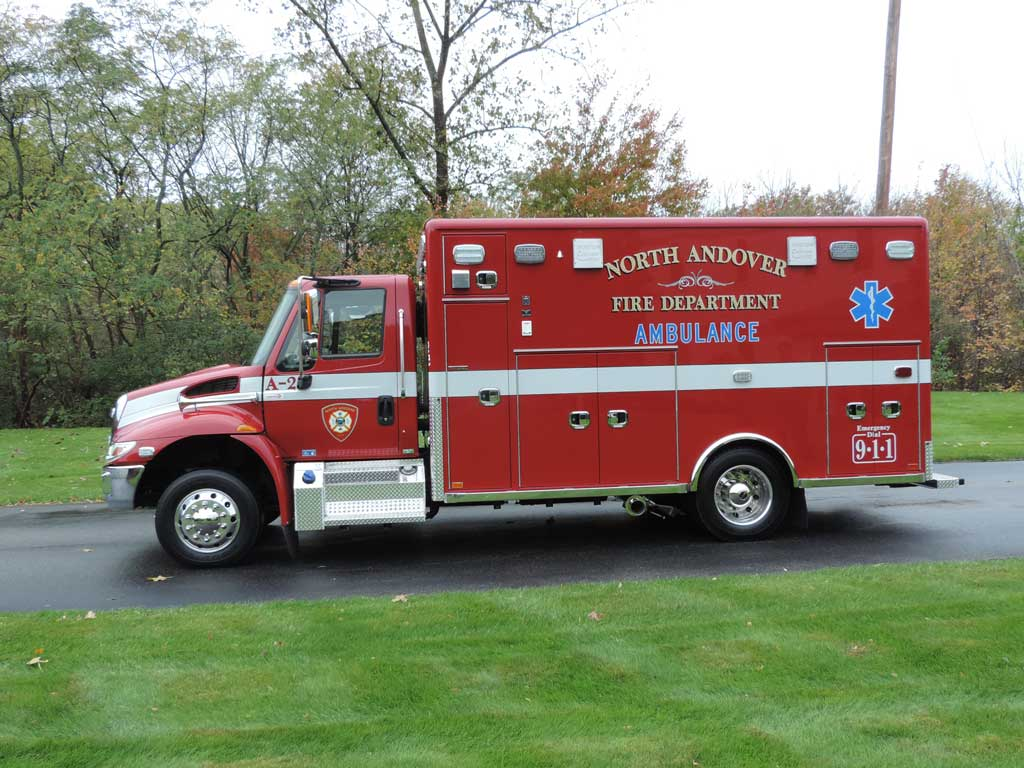 North Andover Ma Horton Medium Duty Ambulance