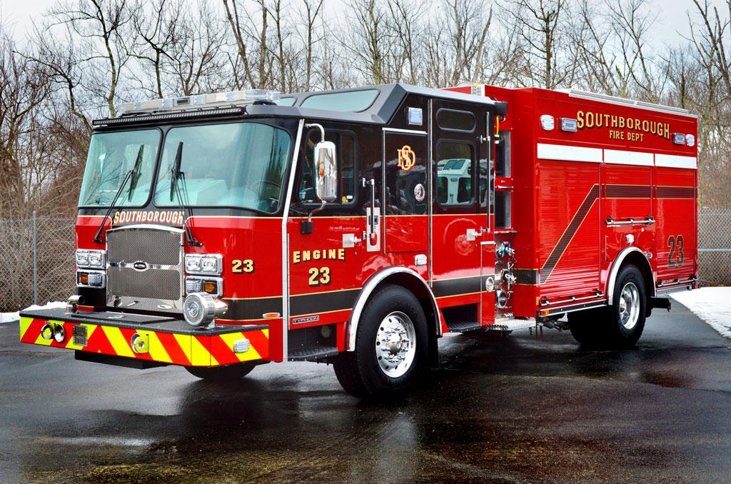 Southborough, MA – E-One Custom Rescue Pumper