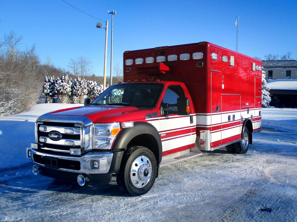 Sudbury, MA – Horton Type I Ambulance
