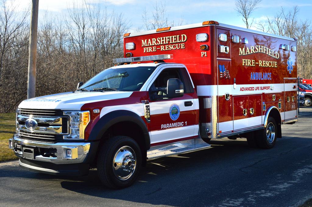 Marshfield Ma Horton Type I Ambulance