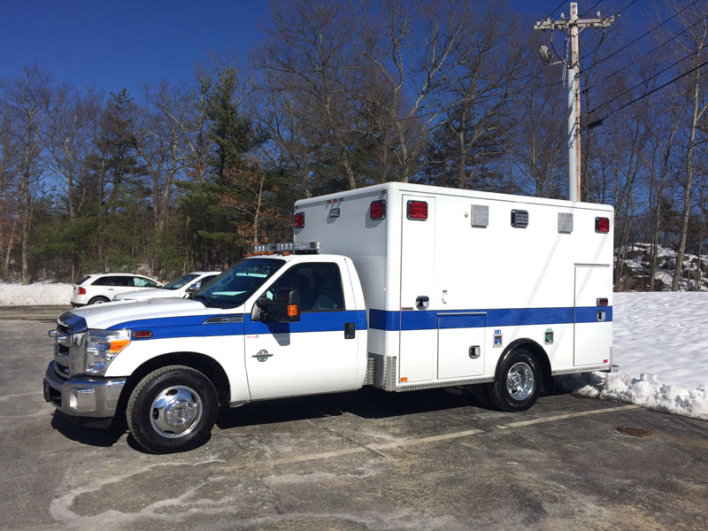 Stamford Ct Horton Ford Type I Ambulance Greenwood
