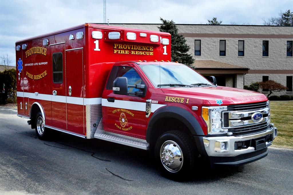 Providence, RI – Wheeled Coach Type I Ambulance – Greenwood