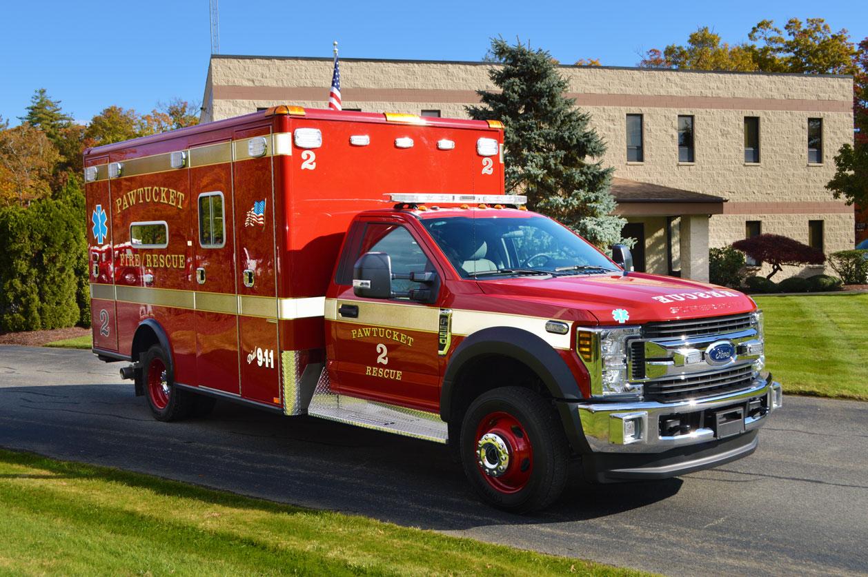 Pawticket, RI Engine 2 Horton Ambulance